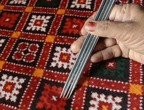 THE AMAZING PROCESS OF WEAVING A PATOLA
